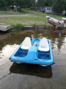 Paddleboat available for rent