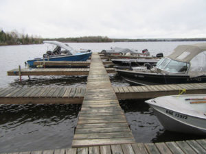 Dock Facilities at Birch Hill Camp